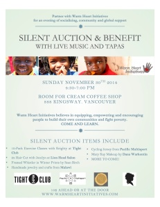 silent auction banner
